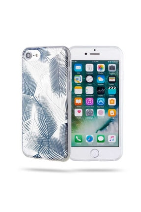 Roar Apple Iphone 8 Kılıf Gel Case Gri-yeşil 0