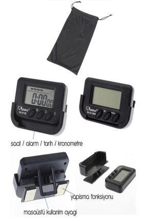 Pratik Mastercar Mini Dijital Saat Tarih Kronometre Göstergesi Çantalı 0