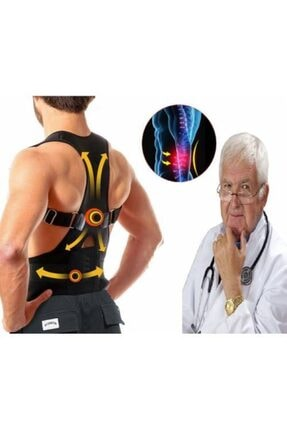 Ankaflex Dik Duruş Korsesi Bel Sırt Korse Kamburluk Önleyici Posturex Hamilelik Sonrası Korsesi 0
