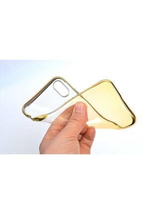 Zore Apple Iphone Xs Max 6.5 Kılıf Zore Moss Silikon Gold 1