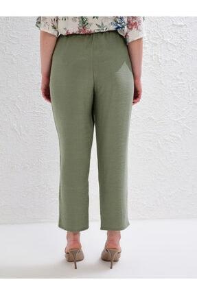 LC Waikiki Kadın Haki Pantolon 0S1641Z8 3