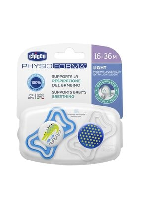 Chicco Physio Forma Light Silikon Emzik Erkek 16-36 Ay 2'li (asortili) 2