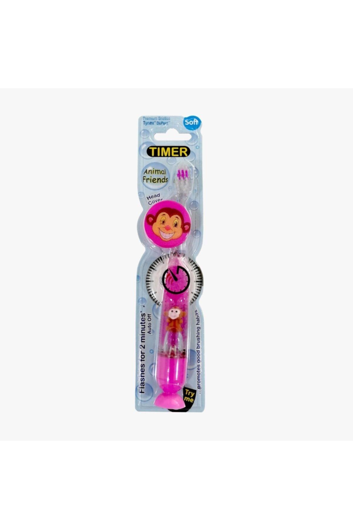 B.brite Pembe Işıklı Diş Fırçası Ve Fırça Başlığı