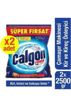 Calgon Çamaşır Makinesi 2500 Gr Kireç Önleyici Toz - 2 Adet 0