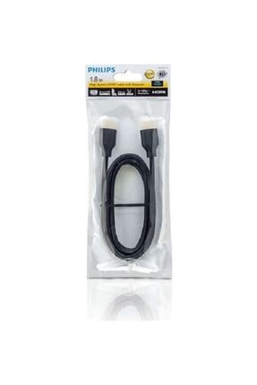 Philips Swv5401h 4k Destekli 1,8m Ethernet Hdmı Kablo ( Ultra Hd - 3d ) 1