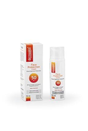 Dermoskin Face Protection SPF 50+  Güneş Koruyucu Krem 50ml 1