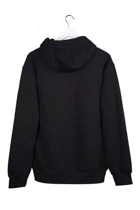 AyveGa Unisex Siyah Sweatshirt 1