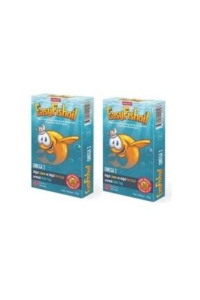 Easy Fishoil Easy Fish Oil 30 Jel Tablet x 2 Adet 0
