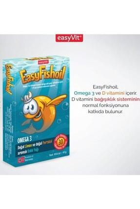 Easy Fishoil Easy Fish Oil 30 Jel Tablet x 2 Adet 3