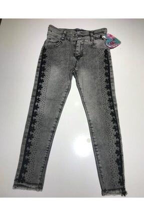 Kız Çocuk Gri Pantolon kot pantolon