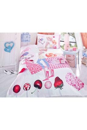 Evlen Home Genç Odası Tek Kişilik Yatak Örtüsü (2 Parça) 1
