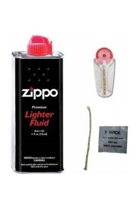 Zippo Orijinal Benzin Orjinal Taşı Ve Fitil 0