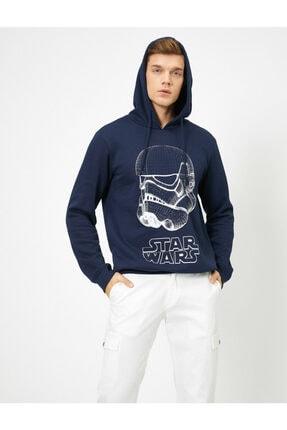 Koton Erkek Lacivert Sweatshirt 0KAM71012CK 0