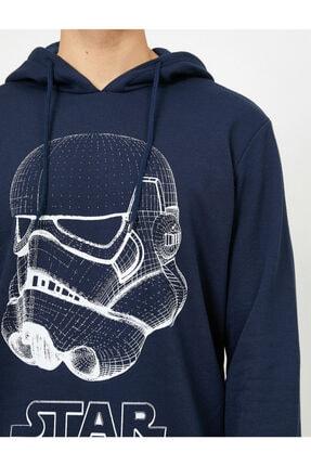 Koton Erkek Lacivert Sweatshirt 0KAM71012CK 2