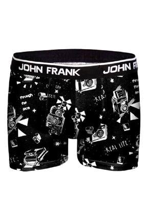 John Frank Erkek Karma Desenli Photo Boxer 18y Jfbd222 2