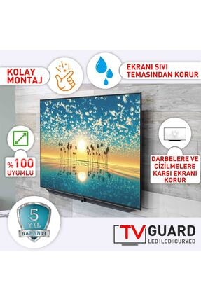 "TV Guard Phılıps 55pfl4308k 55"" Inc 3 mm Tv Ekran Koruyucu 1"