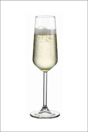 Paşabahçe Allegra 6 Parça Ayaklı Kadeh Flüt Şampanya Kadehi 3