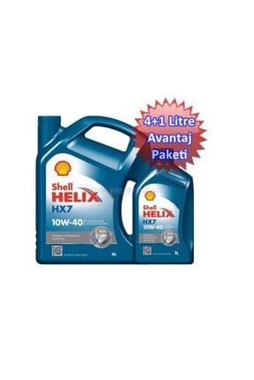 Shell Helix Hx7 10w40 4+1=5 Litre Avantaj Paketi 1