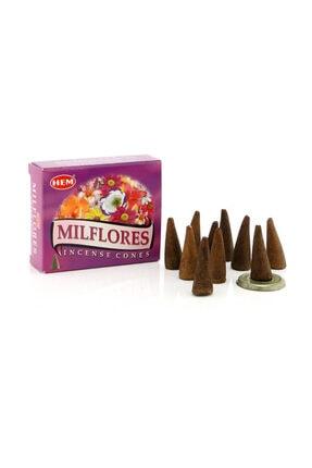Hem Tütsü Milflores Konik Tütsü 0