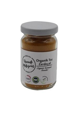 Fermente Mutfağım Organik Toz Zerdeçal 0