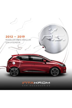 İntachrom Renault Clio 4 Krom Depo Kapağı - 2012 - 2019 0
