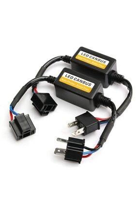 Techmaster H4 Soket Canbus Arıza Işığı Dekoder Söndürücü 2 Adet 0