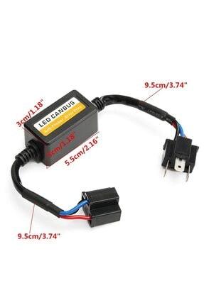 Techmaster H4 Soket Canbus Arıza Işığı Dekoder Söndürücü 2 Adet 2