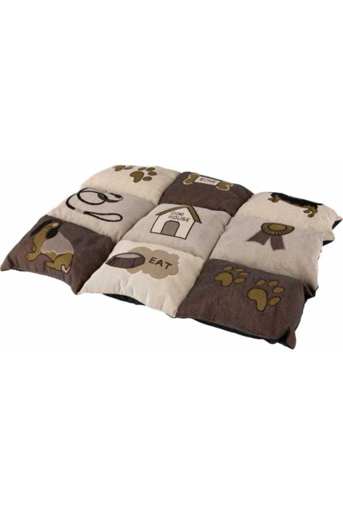 Köpek Yastığı Ve Yatağı 55x40cm Kahve/bej