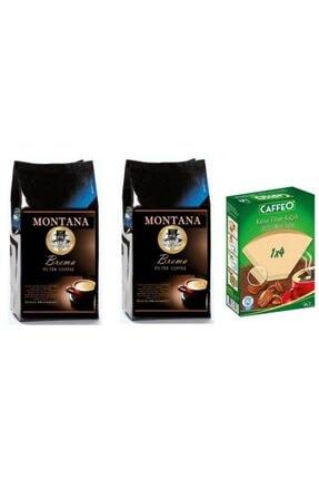 Montana Brema Arabica Filtre 500gr X 2 + Kahve Kağıdı 4 No bremacaf500x2
