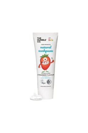 Humble Brush Humble Natural Toothpaste For Kids Strawberry 75ml 0