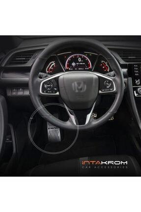 İntachrom Honda Civic Krom Ayak Dinlendirme Pedalı - 2017 - 2020 1