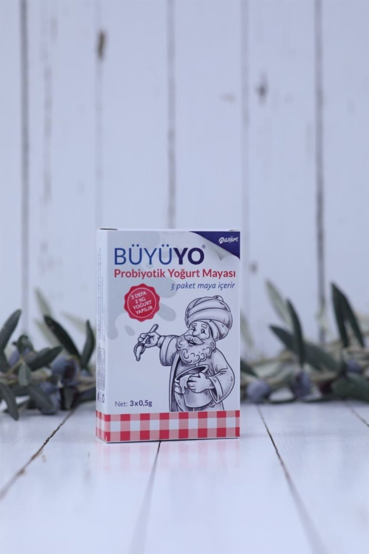 Büyüyo - Doğal Probiyotik Yoğurt Mayası 3 X 0.5 Gr