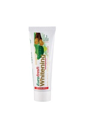Farmasi Eurofresh Aloe Veralı Misvaklı Beyazlatcı Diş Macunu 112 Gr 0