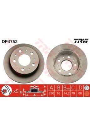 TRW Arka Fren Aynası Ducato 06-boxer 06-jumper06- 2.2hdı-3.0hdı 280x16x5dl Df4752 0