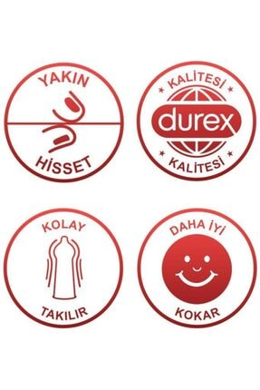 Durex Yakın Hisset Prezervatif, 40'lı Ekonomik Avantaj Paket 4