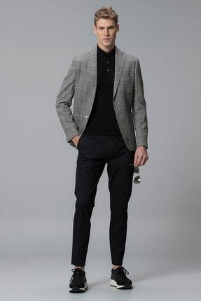 Lufian Procida Spor Blazer Ceket Slim Fit Siyah 2