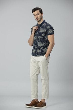 Lufian Capri Spor Polo T- Shirt Lacivert 4