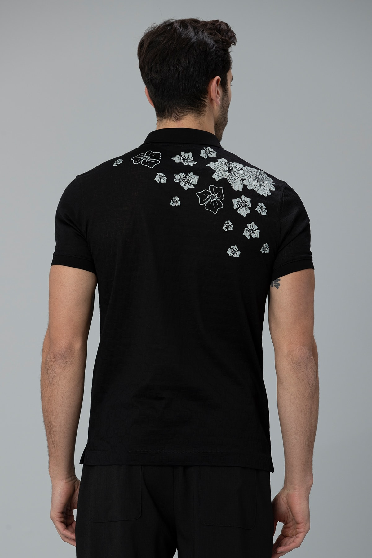 Lufian Matera Spor Polo T- Shirt Siyah 3