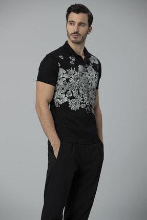 Lufian Matera Spor Polo T- Shirt Siyah 4