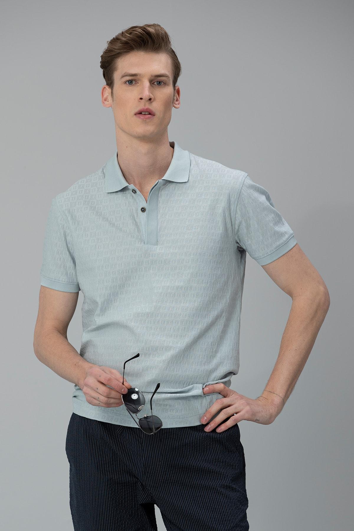Lufian Clar Spor Polo T- Shirt Açık Nane 0