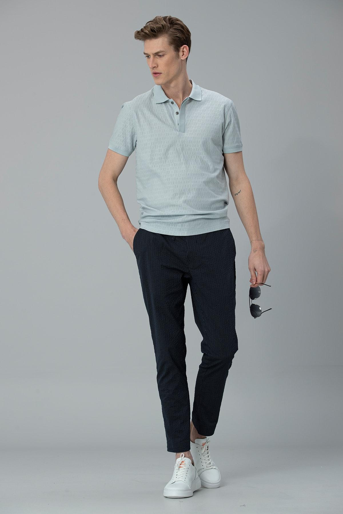 Lufian Clar Spor Polo T- Shirt Açık Nane 2