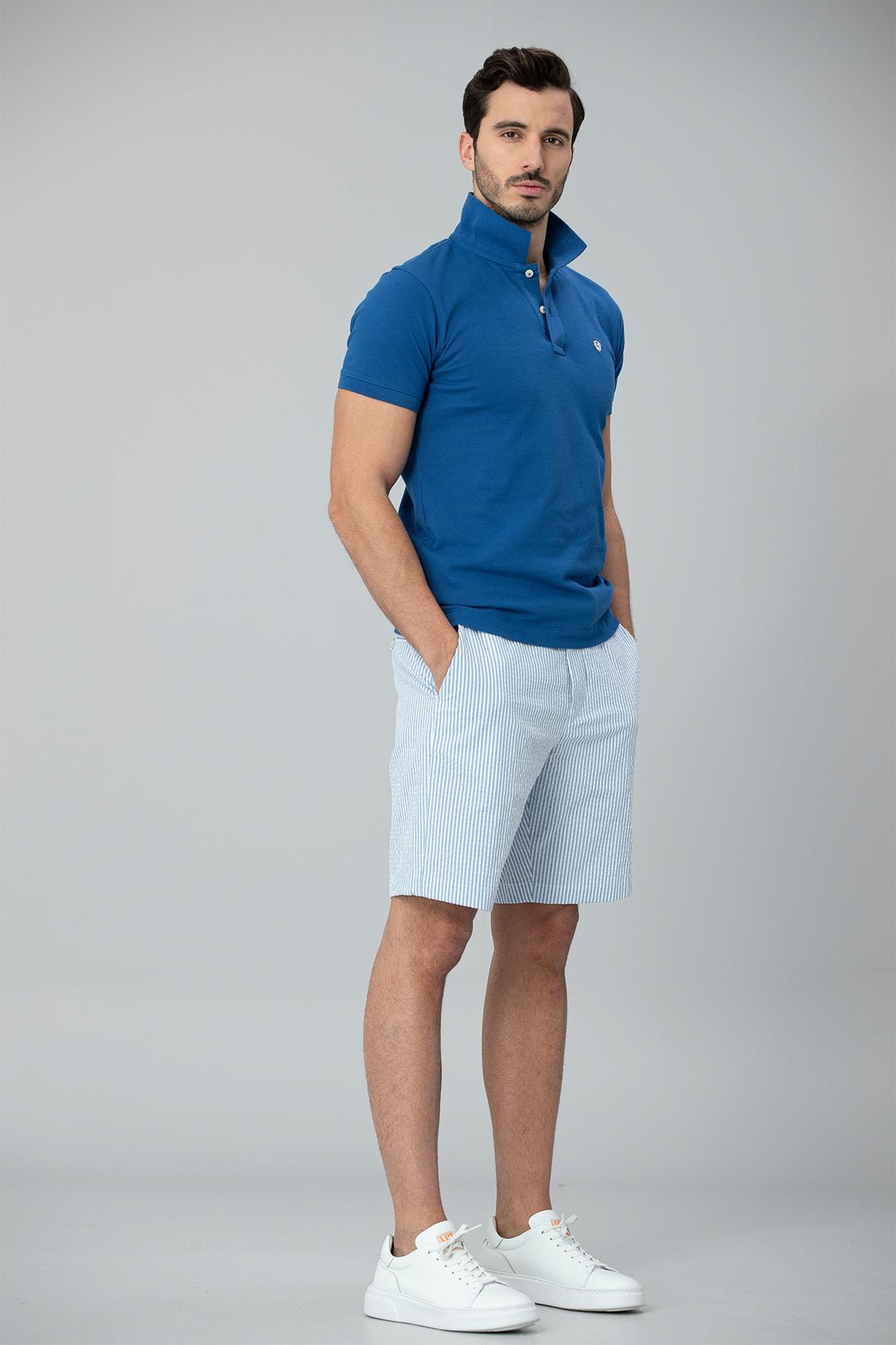Lufian Laon Spor Polo T- Shirt Saks 2