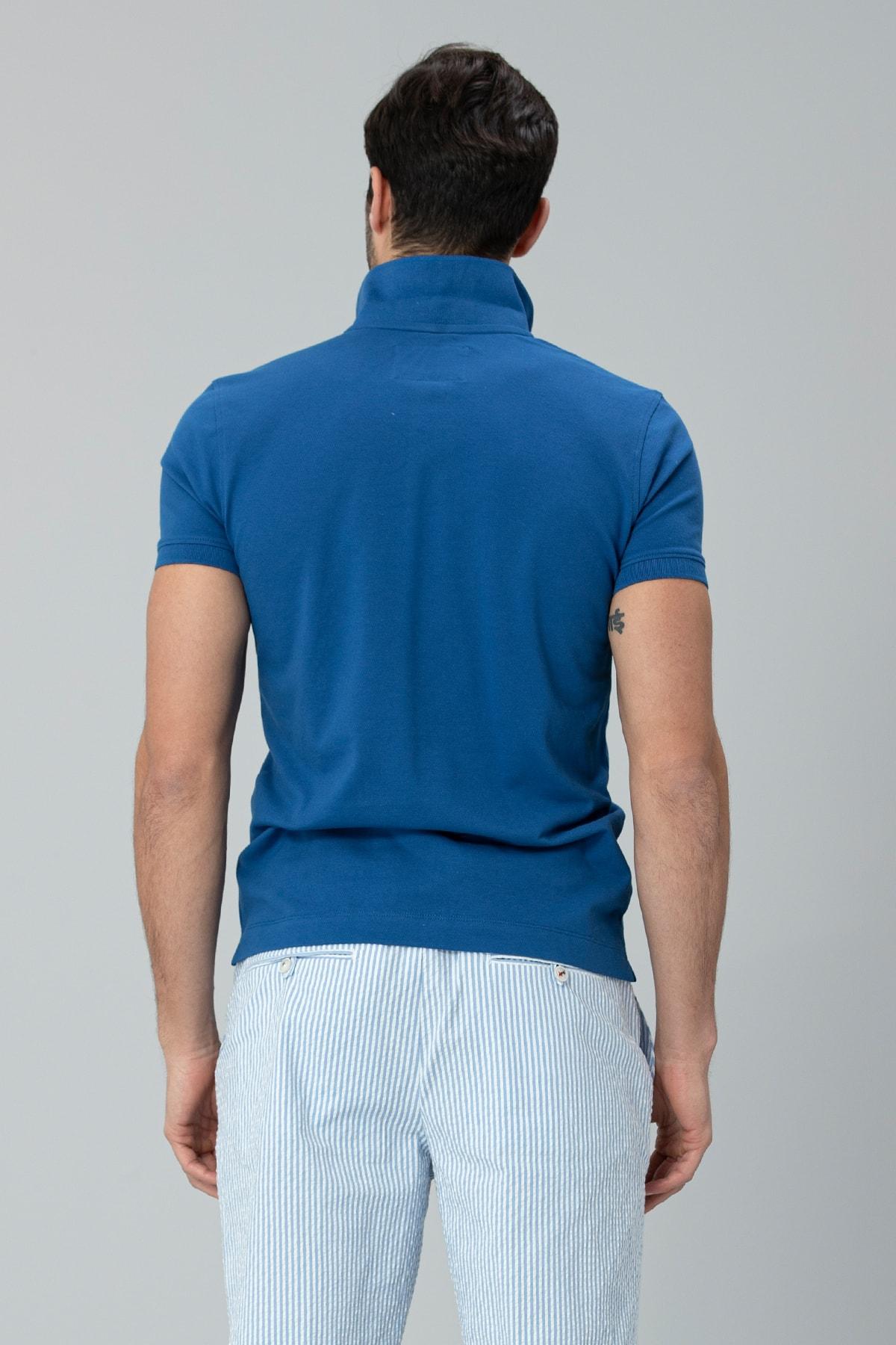 Lufian Laon Spor Polo T- Shirt Saks 3