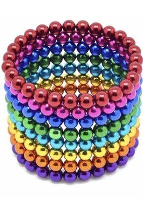 CMT 5mm 8 Renkli Neodyum Mıknatıslı Küre Zeka Gelişim Bilyesi 1