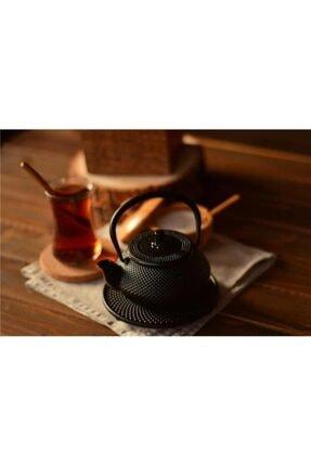 Bambum Siyah Döküm Linden Sümbül Demlik  300 ml 1