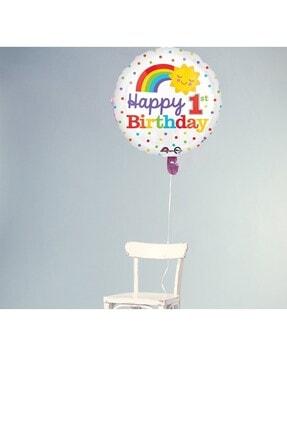 Partifabrik 1 Yaş Happy Birthday Folyo Balon 0