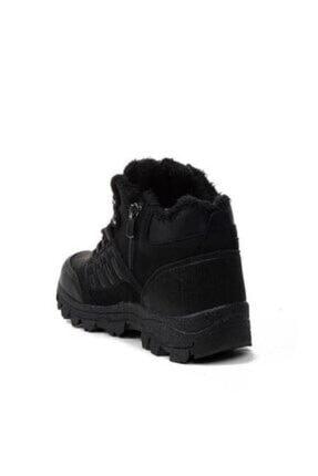 XStep Erkek Siyah Soğuk Geçirmez Kışlık Ayakkabı Bot 1