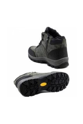XStep Erkek Siyah Soğuk Geçirmez Kışlık Ayakkabı Bot 2