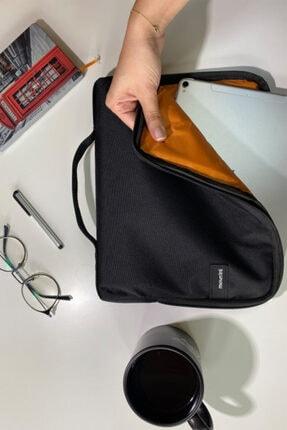 Moserini Ipad Samsung Huawei Lenova Uyumlu Smart Slim Tablet Çantası - Siyah 1