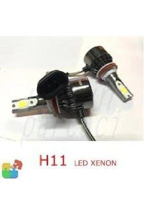 3M H11 2 Adet Led Xenon Şimşek Etkili Led Xenon 9400 Lümen Led Xenon 12v 1